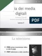 Storia Dei Media Digitali - Lezione 3 - La storia della televisione in Italia