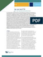 Een Evaluatie Van Het FTK