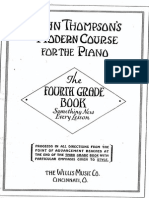 John Thompson - Modern Course for Piano - 4th Grade
