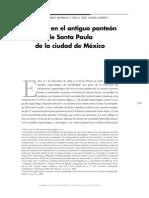Entierros en El Antiguo Panteón de Santa Paula Mexico Df