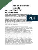 ¿Se Deben Someter los Cristianos a la AUTORIDAD DE GOBIERNO.docx