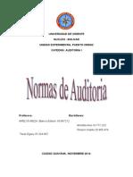 Trabajo de Auditoria (UNIDAD II)