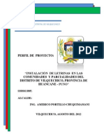 PIP Letrinas Vilquechico