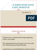Group 10-When a Person is HIV Positive