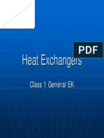 Heat Exchangers PD