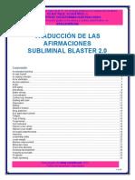 Afirmaciones Subliminal Blaster