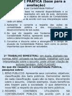 Trabalho 2o Bimestre Contabilidade Publica (1)