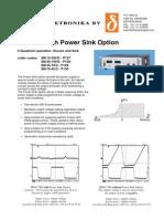 Power Sinks m 3000