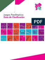 Guía de Clasificación de Los Juegos Paralímpicos - Español