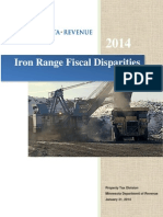 Iron Range Fiscal Disparities Study