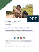 missão guiné
