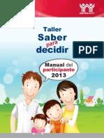 Manual Saber Para Decidir_INFONAVIT