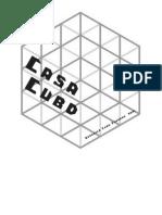 Maqueta Casa Cubo. Diseño básico