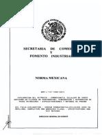Nmx-l-147-1995, Carboxilmetil Celulosa de Sodio