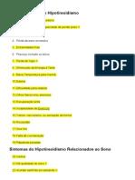 Sintomas Gerais Do Hipotireoidismo