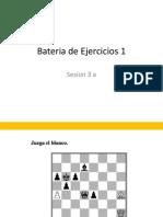 Combinaciones 3 A bateria de ejercicios para metodologia de tactica