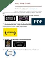 jeff ryback screenplay awards sheet 52 l