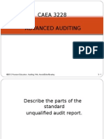 Auditor Reporting Obligations