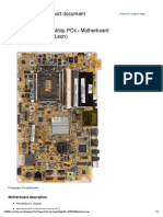 Motherboard Specifications WJ5 (Leon) -Omni 120 1111la