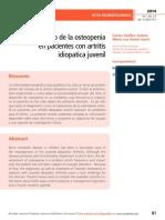 Manejo de la osteopenia  en pacientes con artritis  idiopatica juvenil