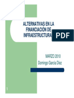 Alternativas en La Financiacion Infraestructuras