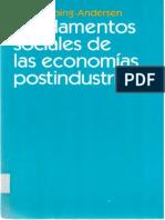 Fundamentos Sociales de Las Eco Posindustriales Gosta Esping Andersen