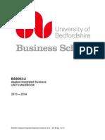 Applied Integrated Business Handbook Rev 2013 2014-2