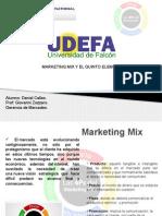 Marketing Mix y el quinto elemento.