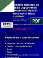 3-7 Dupuytren vu par les rhumatologues (cours DIU)