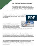Descarga Diccionarios Programas Gratis Aprender Ingles