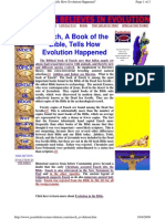 Enoch, A Book of the Bible, Tells How Evolution Happened