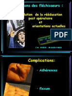 Reeducation Flechisseurs 2013