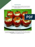 Tomates Rellenos RECETA