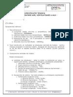 Specificatii Centrala Tratare Aer