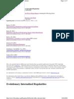 Evolutionary Internalized Regularities - Schwartz P