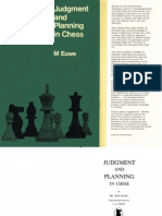 Euwe, Max - Judgement and Planning in Chess