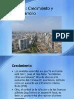Perú, Crecimiento vs Desarrollo