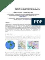 Seismic Vulnerability Chorrillos Barranco - 9P