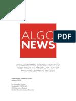 Algo News_Annotated Portfolio