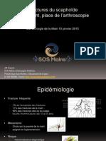 4-6 Fractures Du Scaphoide Traitement Place de l'Arthroscopie