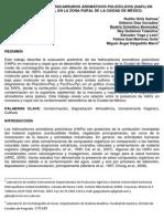 IDENTIFICACIÓN DE HIDROCARBUROS AROMÁTICOS POLICÍCLICOS (HAPs)