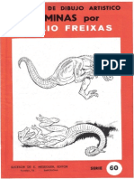 Láminas Emilio Freixas - Serie 60 (Dinosaurios y Reptiles)