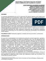CARACTERIZACION FISICOQUIMICA Y BACTERIOLOGICA DE LIXIVIADOS