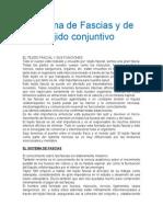 Sistema de Fascias y de Tejido Conjuntivo