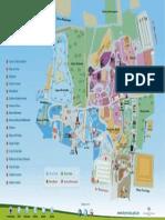 Mapa Del Parque de Las Leyendas 2015