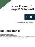 Perawatan Preventif Dan Interseptif Ortodonti II