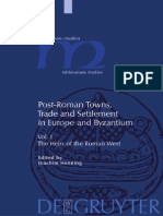 (Millennium Studies 1) Joachim Hennings (Ed.)-Post-Roman Towns, Trade and Settlement in Europe and Byzantium_ the Heirs of the Roman West-Walter de Gruyter (2007)