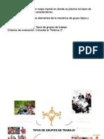 Actividad 1.3 Tipos de Grupos de Trabajo