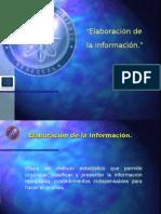 4. Elaboración de La Información