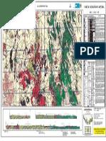 Carta Geologico-minera F14-4 escala 1:250,000